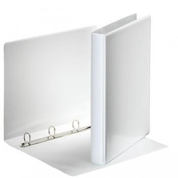 Prezentační kroužkový pořadač Leitz SoftClick Bílá, 4 D- kr, 20 mm