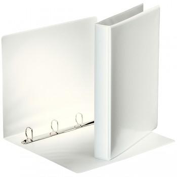 Prezentační kroužkový pořadač Leitz SoftClick Bílá, 4 D- kr, 25 mm