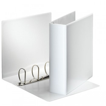 Prezentační kroužkový pořadač Leitz SoftClick Bílá, 4 D- kr, 60 mm