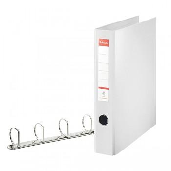 Kroužkový pořadač Esselte VIVIDA, celoplastový A4 maxi Bílá