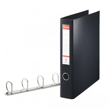Kroužkový pořadač Esselte VIVIDA, celoplastový A4 maxi Černá