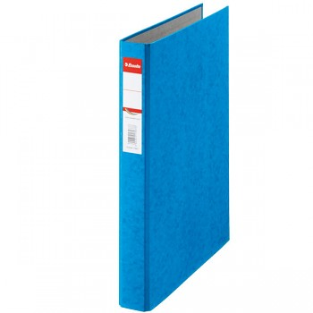 Kroužkový pořadač Esselte Rainbow, kartonový A4 Modrá