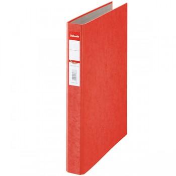 Kroužkový pořadač Esselte Rainbow, kartonový A4 Červená