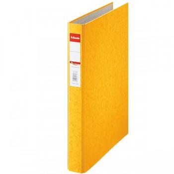 Kroužkový pořadač Esselte Rainbow, kartonový A4 Žlutá