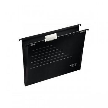 Mobilní závěsné desky Leitz Alpha® Active s bočnicemi Černá