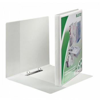 Prezentační kroužkový pořadač Leitz SoftClick Bílá, 2 kulaté kr, 16 mm