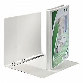 Prezentační kroužkový pořadač Leitz SoftClick Bílá, 4 kulaté kr, 16 mm