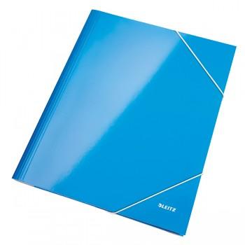 Desky na spisy Leitz WOW Metalická modrá