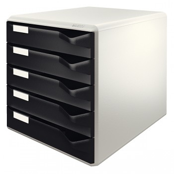 Zásuvkový box Leitz Černá