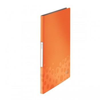 Katalogová kniha Leitz Bebop, 20 kapes Oranžová A4 DOPRODEJ!