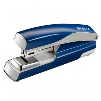 Celokovová sešívačka Leitz NeXXt 5505 s plochým sešíváním Modrá