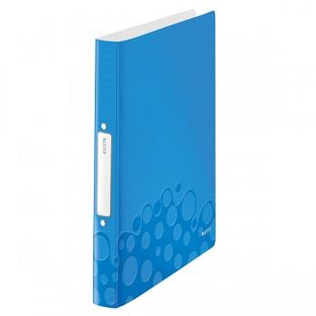 Desky 2kr. A4 PP 25mm Leitz WOW Metalická modrá
