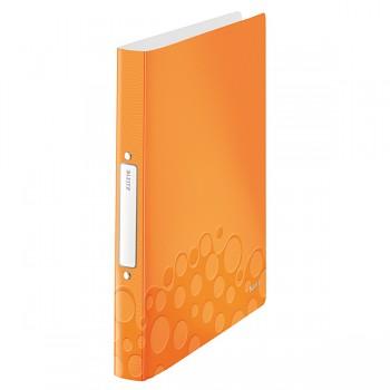 Desky 2kr. A4 PP 25mm Leitz WOW Metalická oranžová DOPRODEJ!!!