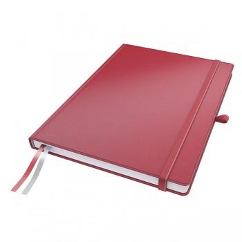 Zápisník Leitz Complete A4 Červená linkovaný