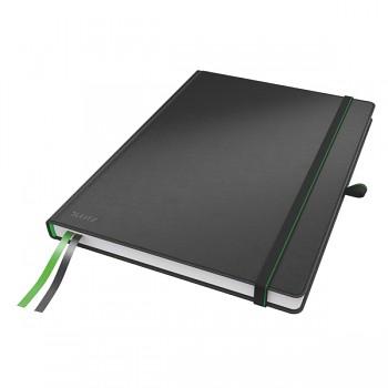 Zápisník Leitz Complete A4 Černá linkovaný