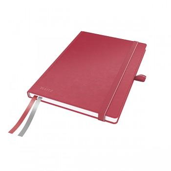 Zápisník Leitz Complete A5 Červená linkovaný