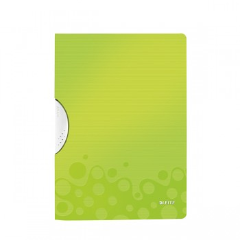 Desky s klipem Leitz WOW Metalická zelená DOPRODEJ!!!