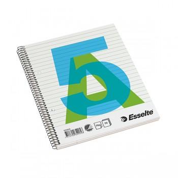 Bloky A5 Esselte boční spirála linka 70 listů