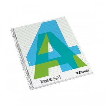 Bloky A4 Esselte boční spirála linka 70 listů
