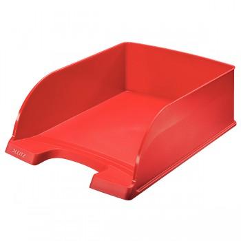 Odkladač Leitz Jumbo Plus Červená