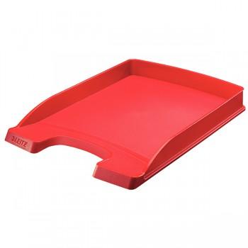 Odkladač Leitz Slim Plus Červená
