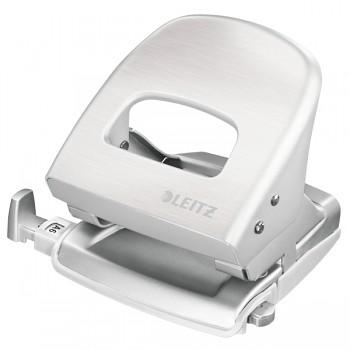 Celokovová stolní děrovačka Leitz NeXXt Style 5006 Arkticky bílá