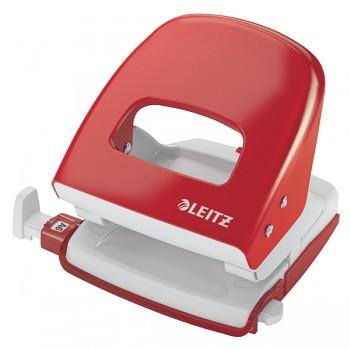 Celokovová stolní děrovačka Leitz NeXXt 5008 Červená