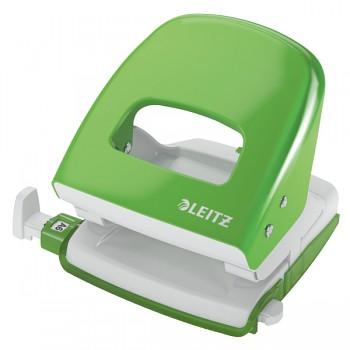 Celokovová stolní děrovačka Leitz NeXXt 5008 Světle zelená