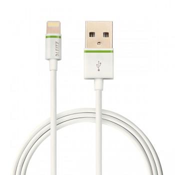 Lightning na USB kabel Leitz Complete, 1 m Bílá