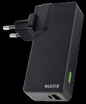 Nabíjecí zdroj USB 3000 mAh Leitz Complete černý
