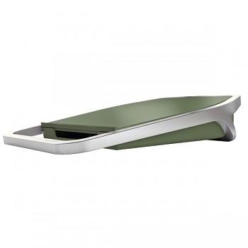 Stolní USB nabíječka Leitz Style se 2 porty Zelenkavá
