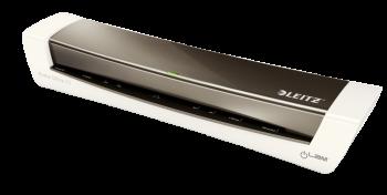 Teplý laminátor Leitz iLAM Home Office A3 metalická šedá