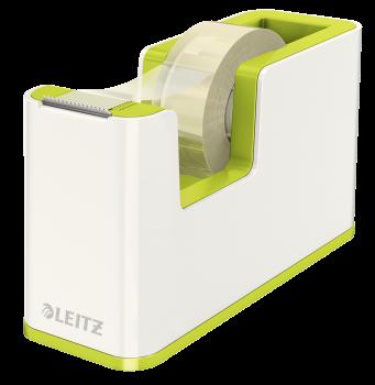 Odvíječ lepicí pásky Leitz WOW zeleno-bílý