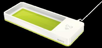 Stolní organizér s bezdrátovou nabíječkou Leitz WOW zeleno-bílý