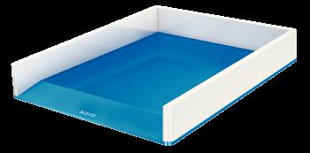 Dvoubarevný odkladač Leitz WOW modro-bílý