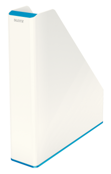Dvoubarevný stojan na katalogy Leitz WOW modro-bílý