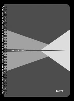 Blok na psaní Leitz OFFICE A4 laminované desky linka šedá