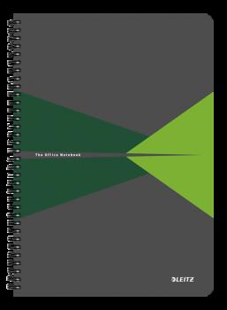 Blok na psaní Leitz OFFICE A4 laminované desky linka zelená
