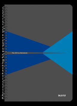 Blok na psaní Leitz OFFICE A4 laminované desky linka modrá