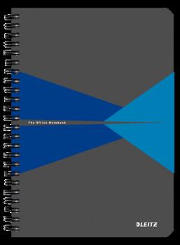 Blok na psaní Leitz OFFICE A5 laminované desky linka modrá