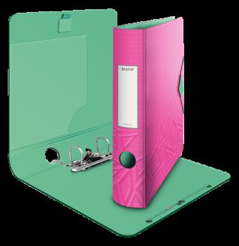 Mobilní pořadač Leitz 180° Urban Chic růžová 65 mm