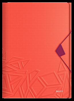 Desky na spisy Leitz Urban Chic červená