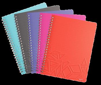 Blok na psaní Leitz Urban Chic Notebook A4 linka mix barev