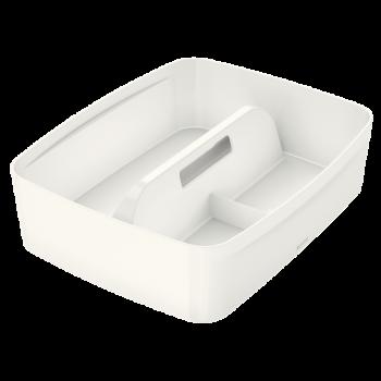 Organizér s držadlem Leitz MyBox®, velikost M bílý