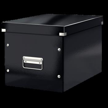 Čtvercová krabice Leitz Click&Store, velikost L (A4) Černá