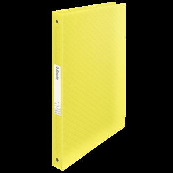 Desky s 4kroužkovým mechanismem Esselte Colour´Ice Žlutá