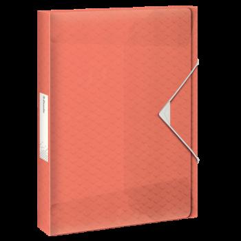 Box na spisy Esselte Colour'Ice Broskvová