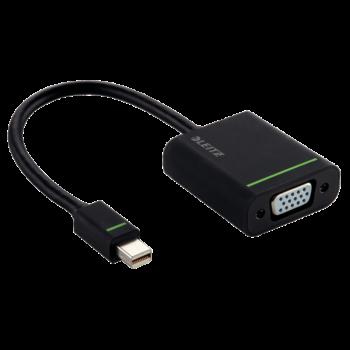 Adaptér Mini display port na VGA Leitz Complete Černá