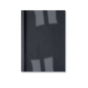 Desky pro termo vazbu GBC LeatherGrain Černá