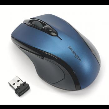 Bezdrátová počítačová myš střední velikosti Kensington Pro Fit™® Modrá
